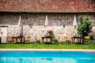 Espace piscine + brunch